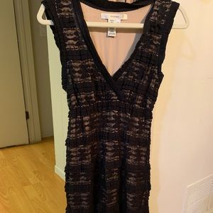 Black and nude dress size L